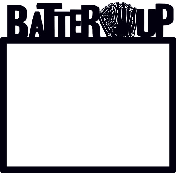 Creative Imaginations Batter Up Baseball Scrapbook