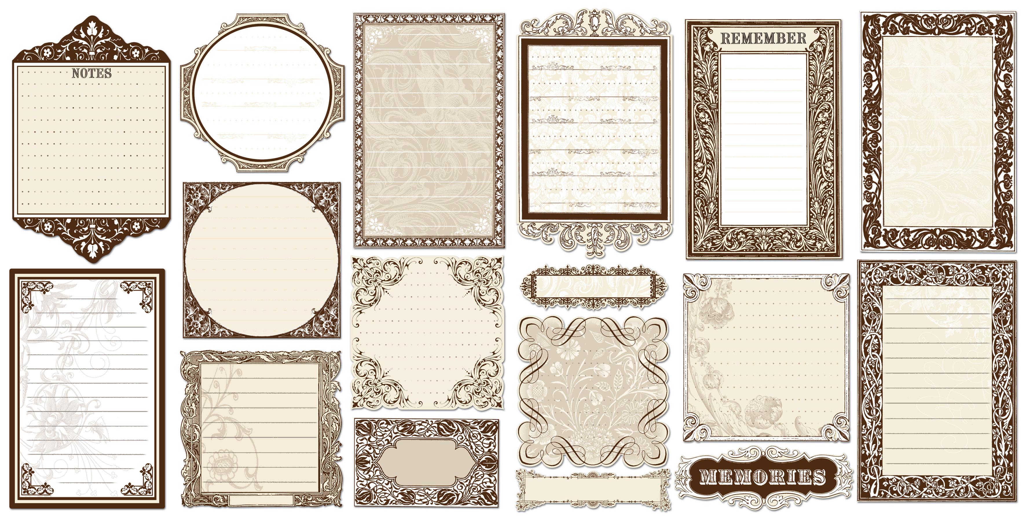 Журналинг к открыткам, открытки