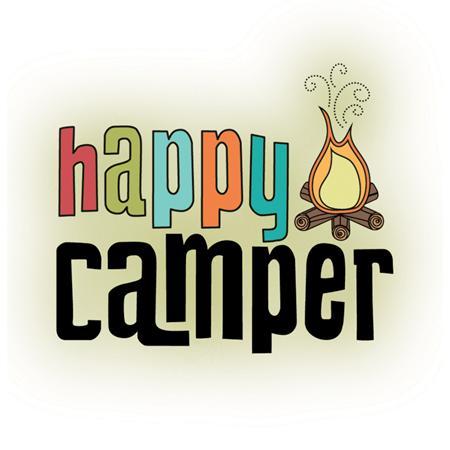 Imaginisce Happy Camper Snag Em Stamp