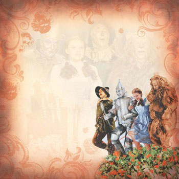 Paper House Productions Wizard Of Oz Scrapbooking